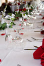 Head table Stock Images