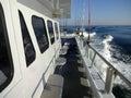 Headboat Under Way Royalty Free Stock Photo