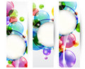 Header bubble Stock Image