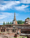 Headless buddha at ayutthaya thailand Stock Photo