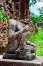 Headless Buddha, My Son, Vietnam Royalty Free Stock Photo