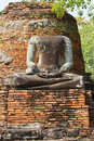 Headless buddha ruins Royalty Free Stock Photos