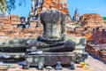 Headless buddha statue Royalty Free Stock Photo