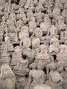 Headless Buddhas, Laos Royalty Free Stock Photo