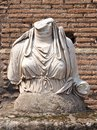 Headless roman statue Royalty Free Stock Photo