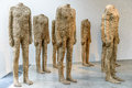 Headless status statues standing together in a room Royalty Free Stock Image