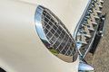 Headlight on a classic vintage car Royalty Free Stock Photo
