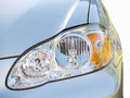 Headlight close-up Royalty Free Stock Images