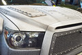 Headlight of the custom SUV Royalty Free Stock Photo