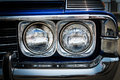 Headlight. Royalty Free Stock Photo