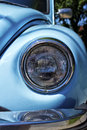 Headlight of a vintage volkswagen beetle Royalty Free Stock Image
