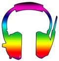 Headphone 02 Stock Image