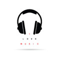 Headphones Icon With Message V...