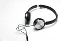 Headphones isolate on white background Royalty Free Stock Photo