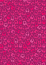 Headphones on magenta background Stock Image
