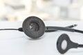 Headset of IP Phone Royalty Free Stock Photo