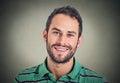 Headshot smiling man, creative professional Royalty Free Stock Photo