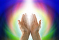 Healing Circle of Light Royalty Free Stock Photo