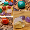 Healing stones Royalty Free Stock Images