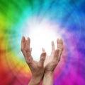 Healing Vortex Royalty Free Stock Photo