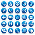 Health Care icons Royalty Free Stock Images