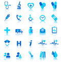 Health Care icons Stock Images