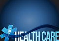 health care medical symbol illustration design Royalty Free Stock Photo