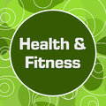 Health And Fitness Random Rings Circle Royalty Free Stock Photo