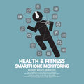 Health And Fitness Smartphone Monitoring