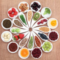 Health Food Platter Royalty Free Stock Photo