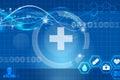 Health future medical app Royalty Free Stock Photo
