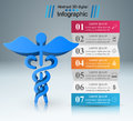 Health icon. 3D Medical infographic.