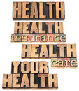 Health insurance and care Royalty Free Stock Photo