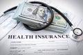 Health insurance Royalty Free Stock Photo