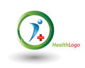 Health logo Stock Photography