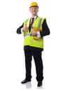 Health and safety man Royalty Free Stock Image