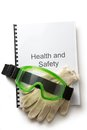 Health and safety register Royalty Free Stock Photo