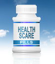 Health scare concept. Royalty Free Stock Photo