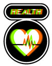 Health symbol Royalty Free Stock Photos