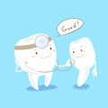 Health tooth concept