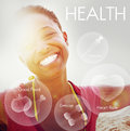 Health Wellbeing Wellness Vitality Healthcare Concept Royalty Free Stock Photo