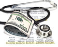 Healthcare cost Royalty Free Stock Photo