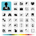 Healthcare and medical icon for business category concept of Royalty Free Stock Images