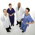 Zdravotná starostlivosť pracovníci portrét