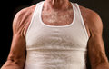 Healthy aging - senior muscle Royalty Free Stock Photo