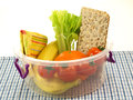 Healthy box, isolated Royalty Free Stock Photo