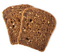 Healthy bread isolated Stock Image