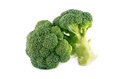 Healthy brocoli isolated on a white background Stock Photos
