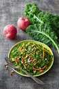 Healthy Cabbage Kale Salad Wit...