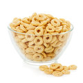 Healthy Cereal Rings Isolated ...
